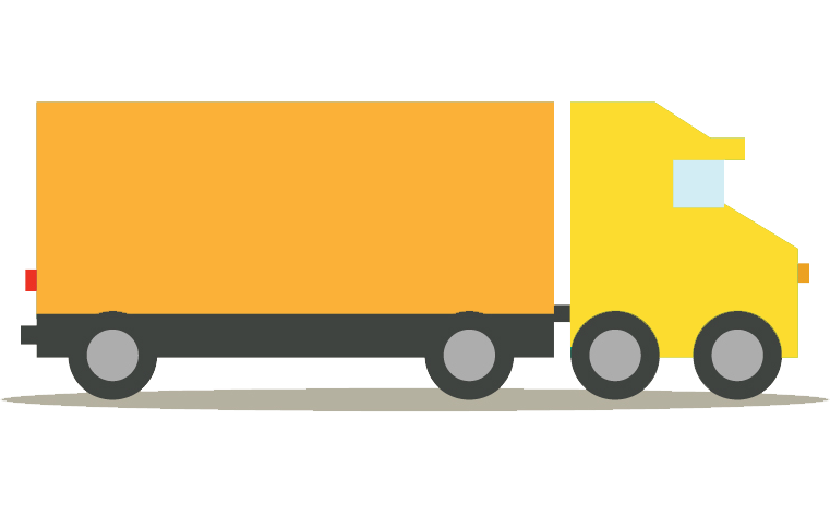 émissions CO2 transports camion